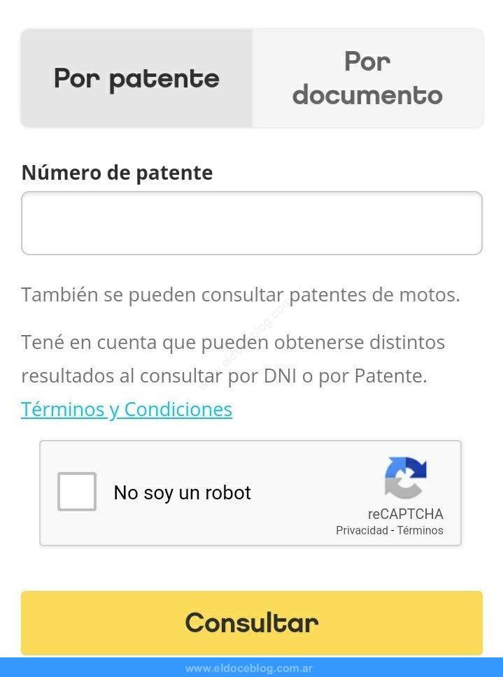 Cómo Hacer Consulta de Infracciones de Tránsito Por Patente