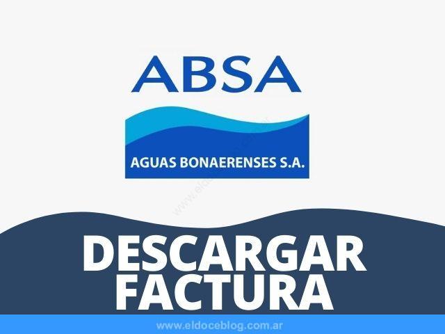 Como Descargar Factura de ABSA Ver, Imprimir, Bajar