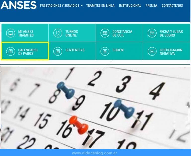 ANSES Cuando Cobro – Calendario de Pagos