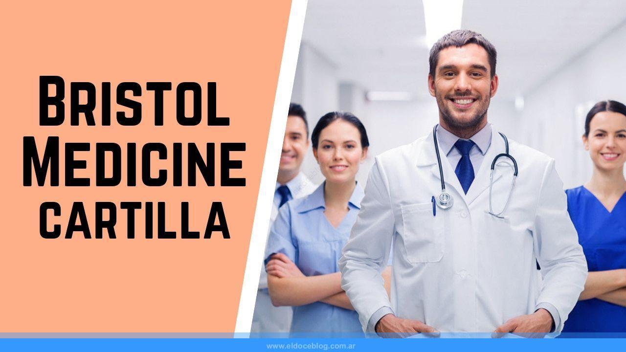 cartilla medica de Bristol Medicine