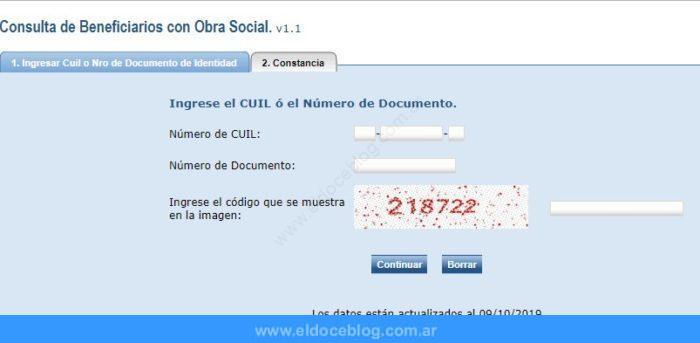 Consulta de Obra Social • Cómo hacer consultas online, pasos para modificar el Codem y formas para tramitar una obra social