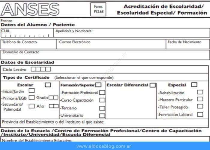 ¿Cómo descargar y llenar el formulario de Ayuda Escolar?