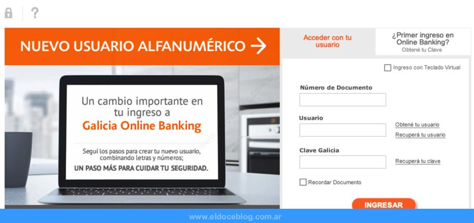 Home Banking Galicia