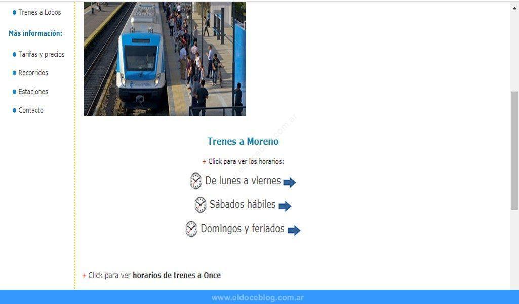 ¿Quieres Conocer Los Horarios Que Tiene El Tren Sarmiento?