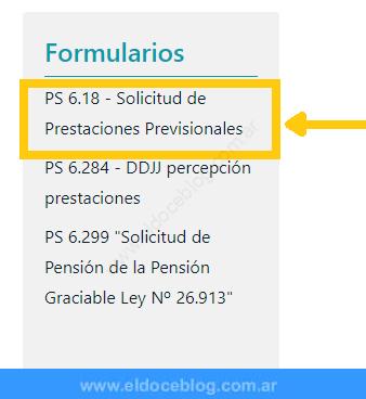 Paso 3 Descarga Formulario 6.18
