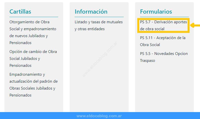Paso 4 para descargar Formulario 5.7