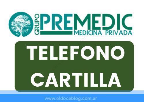 PreMedic Telefono Planes Jubilados Cartilla Opiniones Autorizaciones