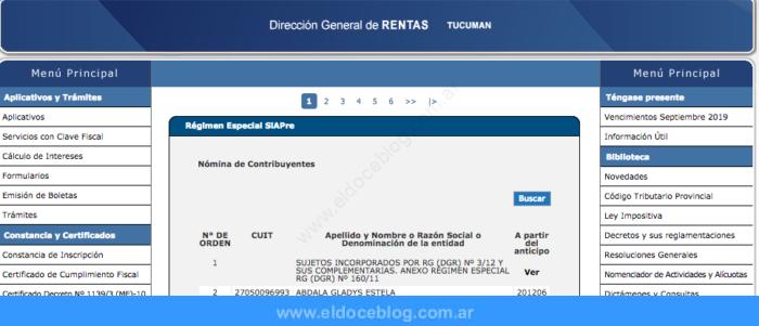 Rentas en Tucumán • Cómo solicitar boletas y trámites que requieren pago de impuestos provinciales