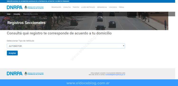 Registro Del Automotor Por Patente Como Consultar Online