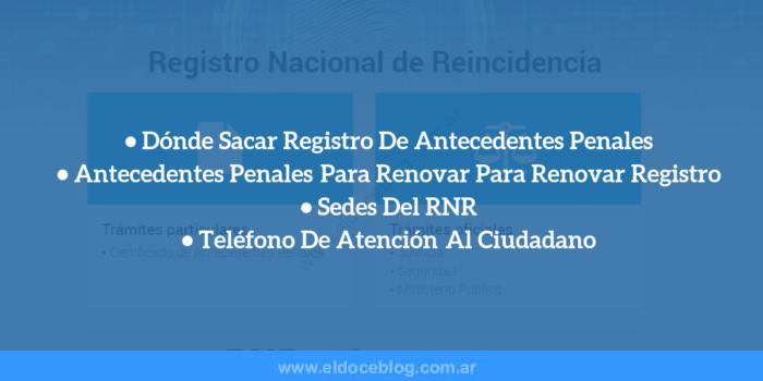 Registro De Antecedentes Penales