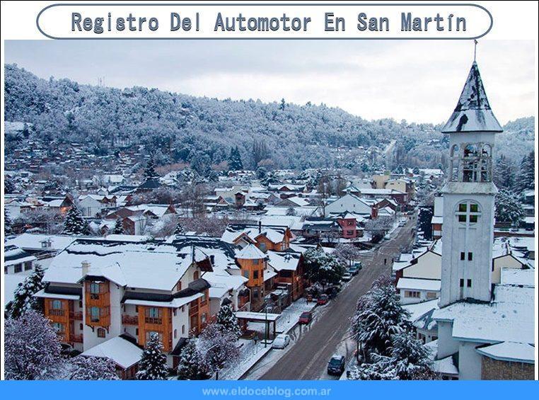 Registro Del Automotor En San Martín