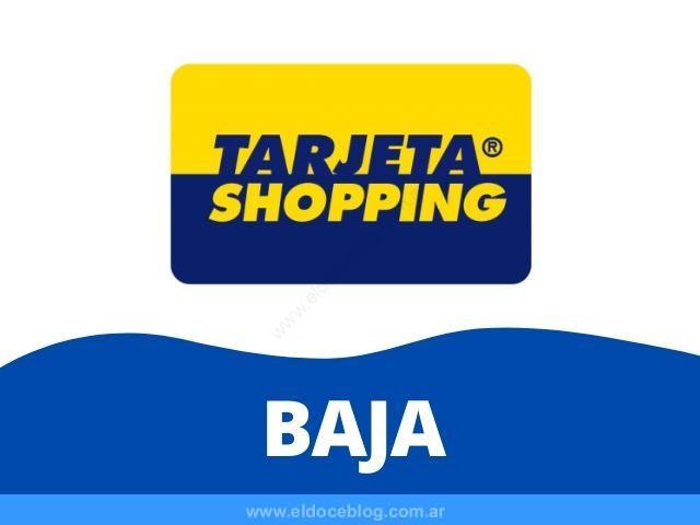 Como Dar de Baja Tarjeta Shopping VISA