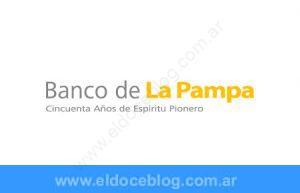 Banco de La Pampa – Telefono 0800