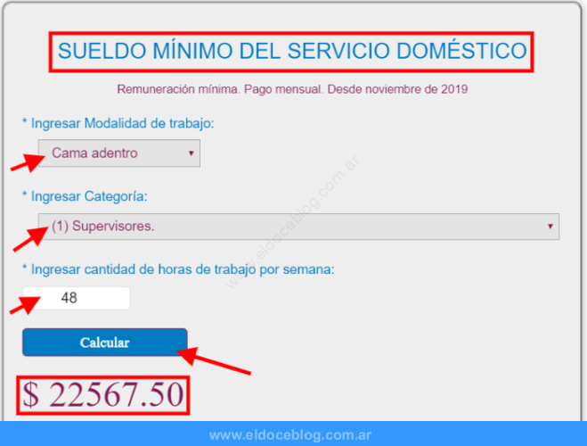Aumento salarial para empleadas domésticas