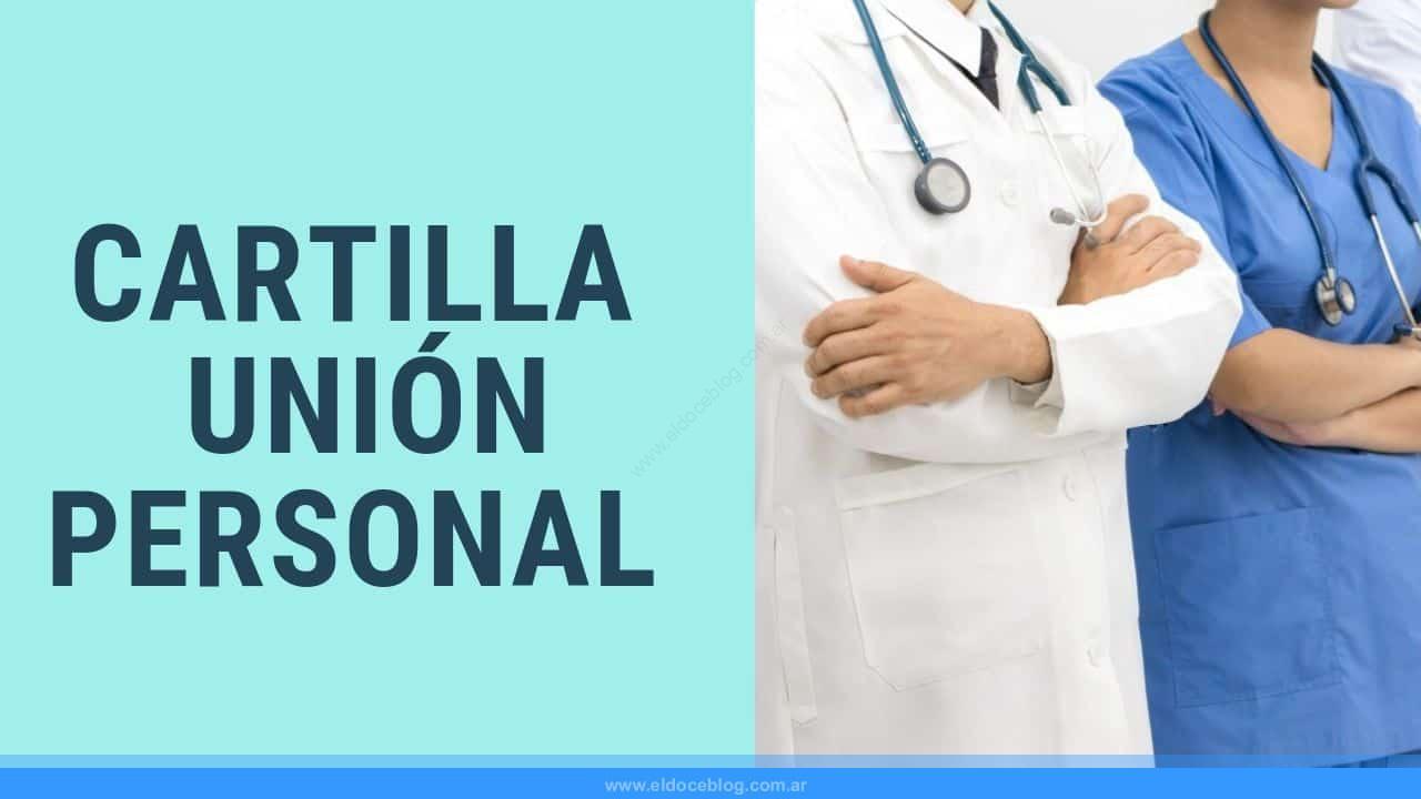 cartilla medica de Unión Personal