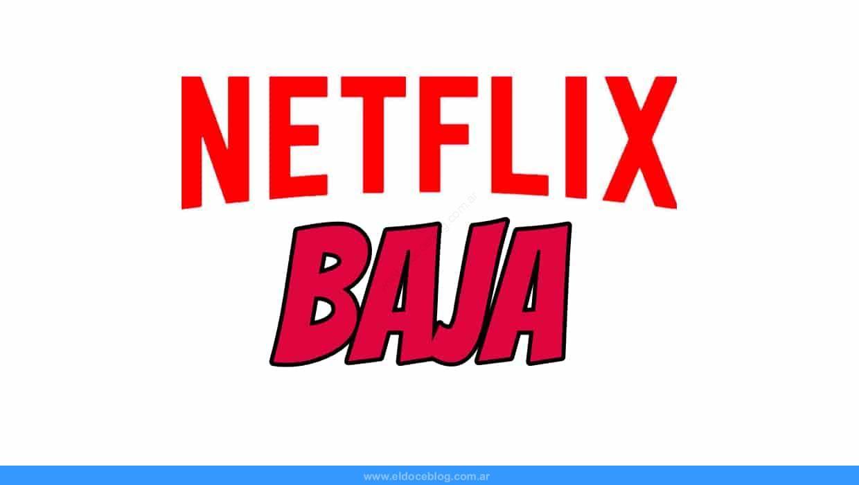 como dar de baja una cuenta de Netflix Argentina