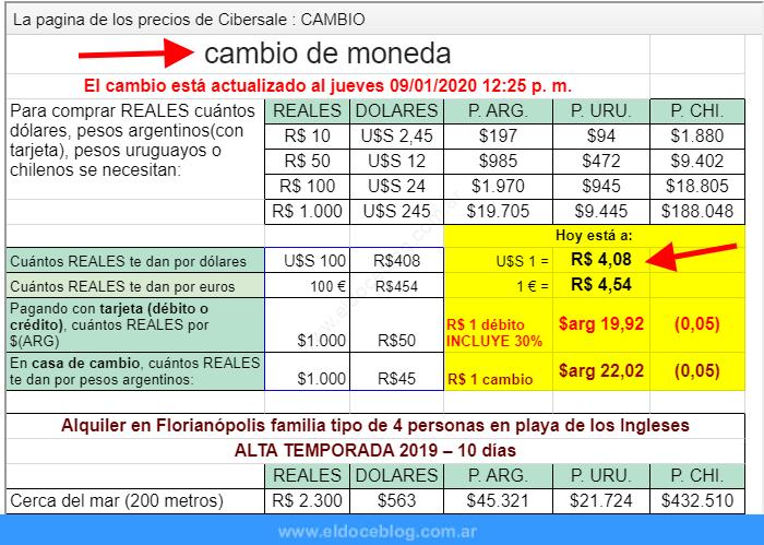 ¿Cómo comprar reales a buen precio en Argentina?