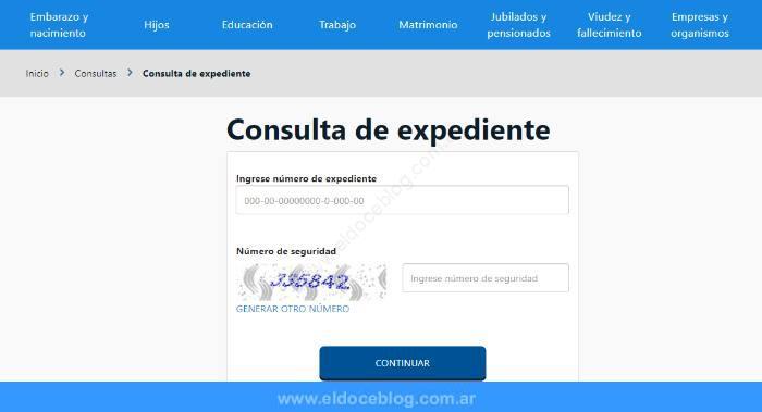 Seguimiento de expediente pensión no contributiva • Consulta online
