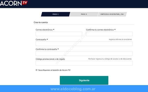 ¿Cómo contratar y activar una cuenta de Acorn TV en Argentina?