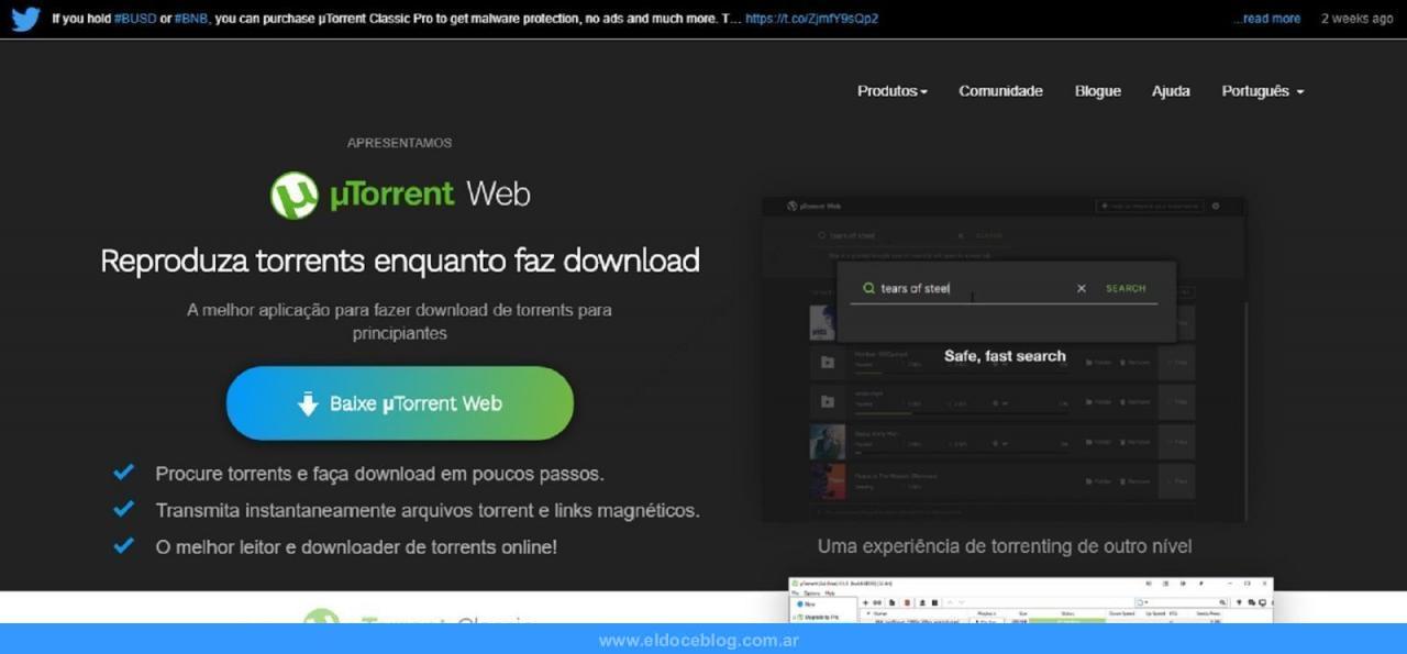 Cómo Usar uTorrent Web