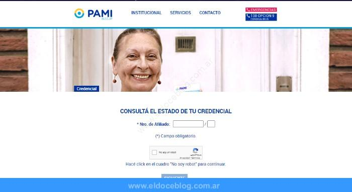 ¿Cómo conseguir y activar la credencial PAMI?