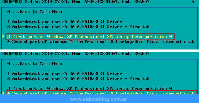 Cómo Instalar Windows XP Desde USB