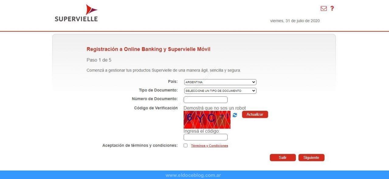 Cómo Hacer Home Banking Supervielle
