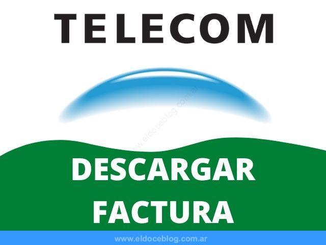 Cómo Descargar Factura de Telecom Cómo imprimir