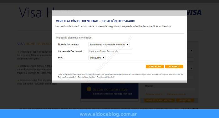 Como utilizar el servicio de registro de viajes de Visa Home Socios