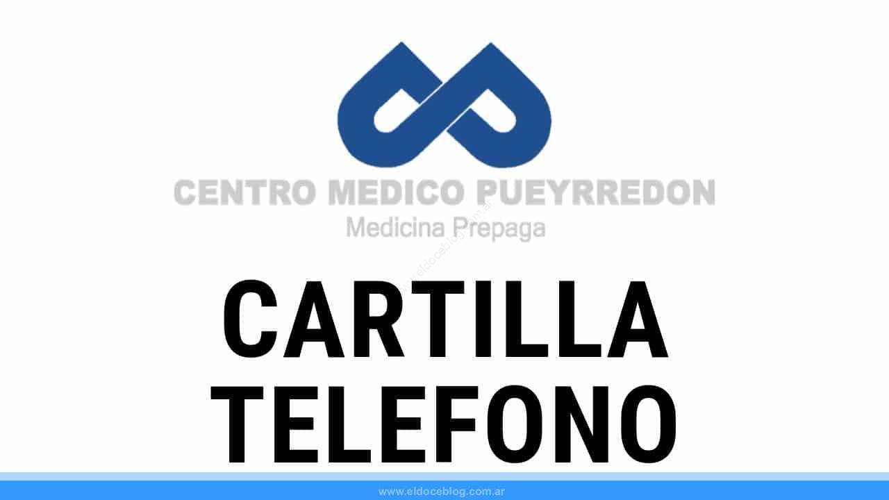 Planes del Centro Medico Pueyrredón: Cartilla, Precio, Opiniones, Telefono, Autorizaciones