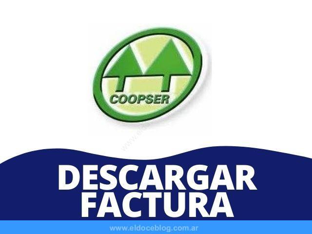 Coopser Descargar Factura PDF: Como Consultar, Ver, Imprimir
