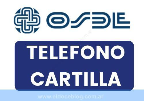 OSDE Telefono, Cartilla, Planes, Precios, Sucursales, Cobertura, Opiniones