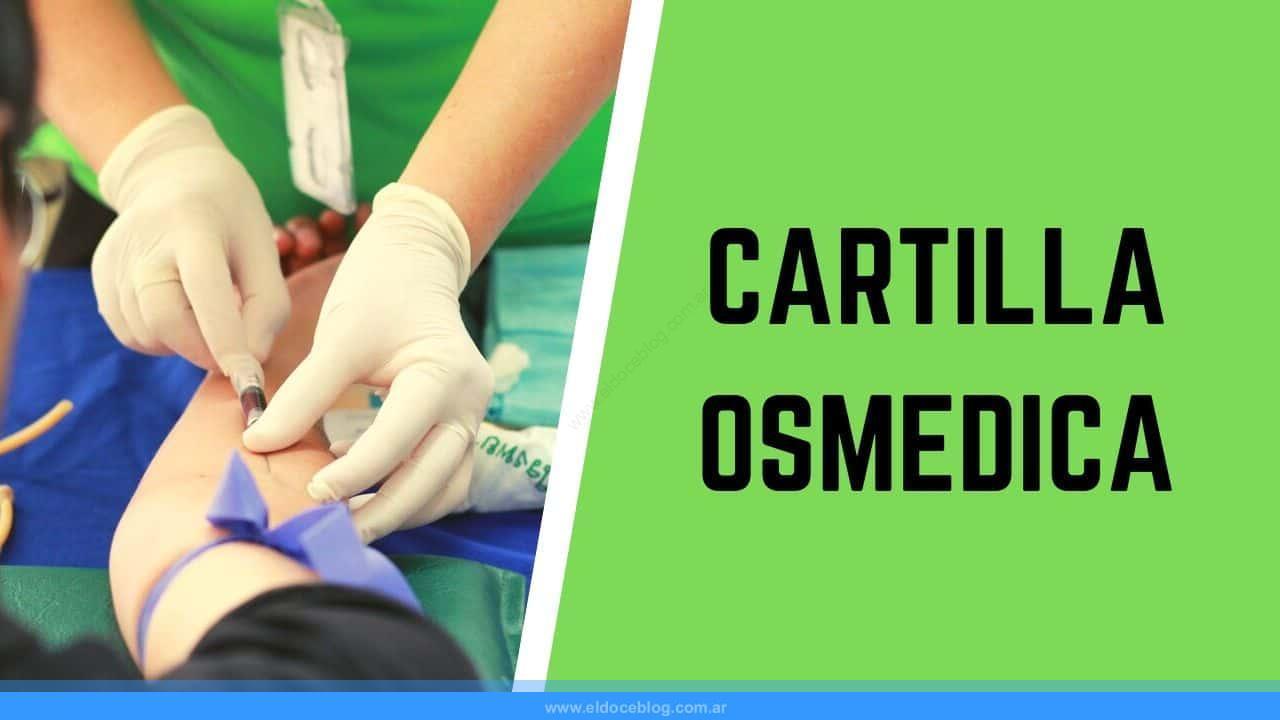 cartilla medica de OSMEDICA online