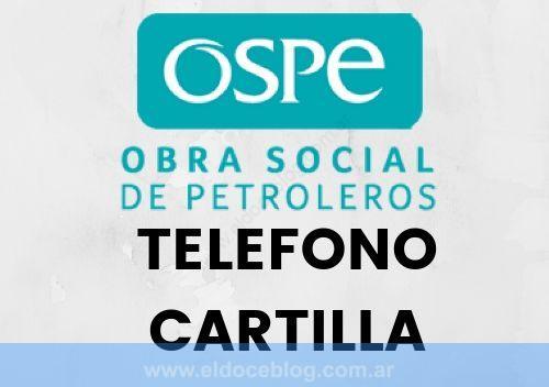 OSPE Salud Obra Social de Petroleros Telefono Cartilla Planes y Cobertura