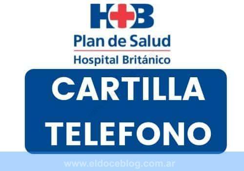 Plan de Salud Hospital Britanico Teléfono Cartilla Precio Farmacias Turnos Opiniones