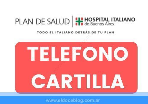 Plan de Salud Hospital Italiano Telefono Cartilla Precios Cobertura