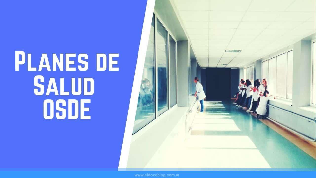 planes de salud de OSDE