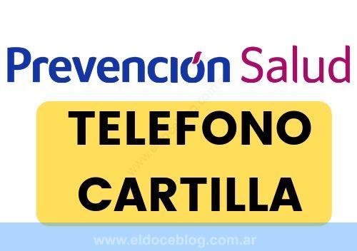 Prevención Salud Cartilla TELEFONO Planes Prestadores Opinion