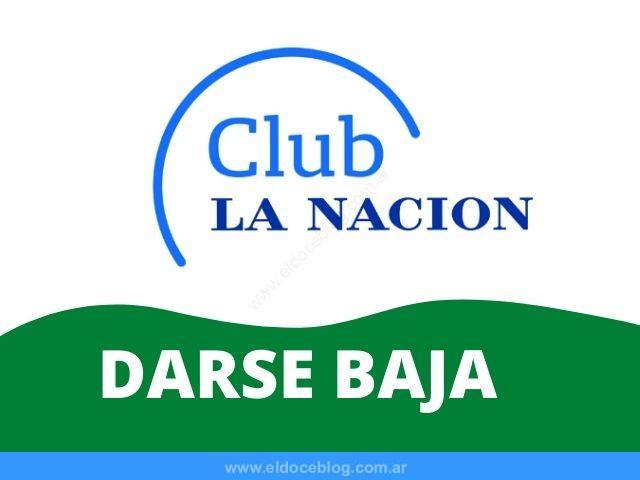 Como Dar de Baja Tarjeta Club la Nacion