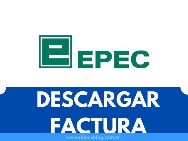 Cómo Descargar Factura de EPEC VER Imprimir con DNI