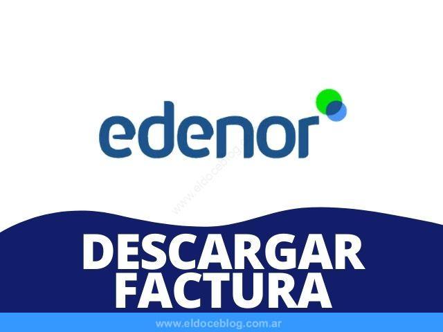 Cómo Descargar Factura EDENOR Ver, Imprimir, Bajar