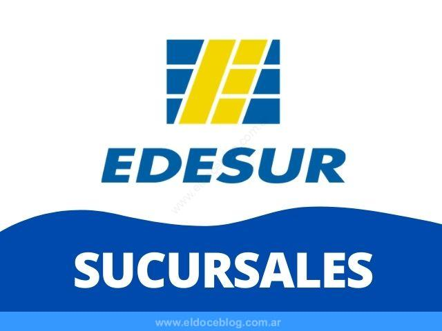 Edesur Sucursales y Horarios: Listado de Oficinas Comerciales