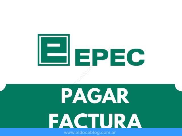 Como pagar la Factura de EPEC Vencida, homebanking, Tarjetas, Efectivo