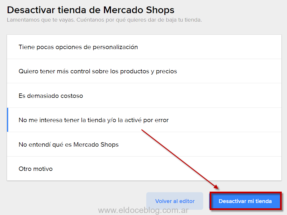 Baja MercadoShops