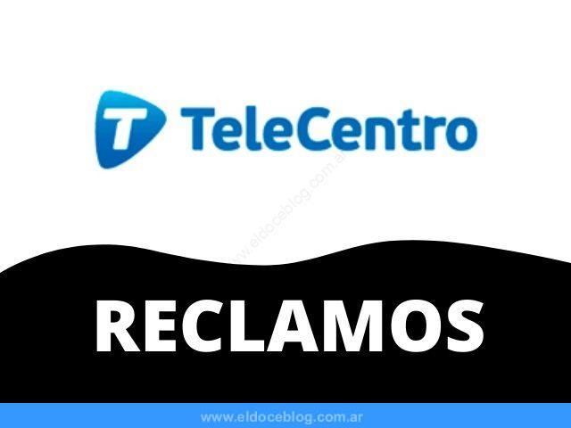 Telecentro Reclamos y Quejas: Tecnicos, Internet, Whatsapp